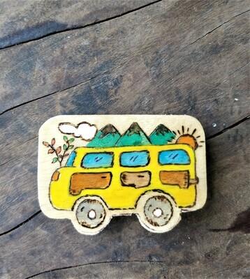 """""""Travel Van"""" - Magnet"""