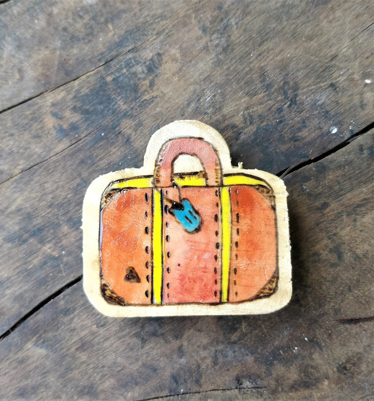 """Travel Suitcase"" - Magnet"