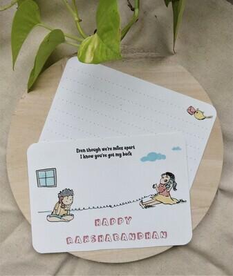 Rakshabandhan Card (small)