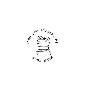 """""""Library of"""" Custom Rubber Stamp"""