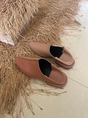 Babouche Wrapped Heel