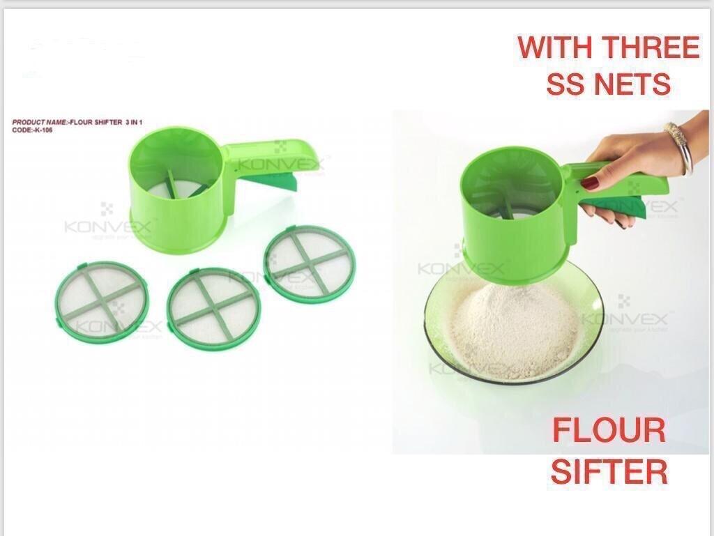 Flour shifter