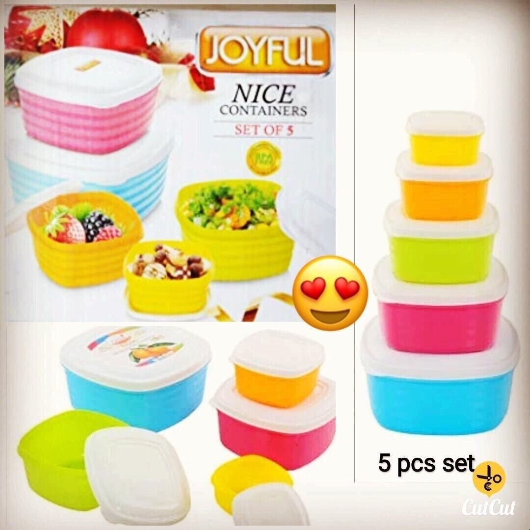 Nice Containers (Set Of 5)