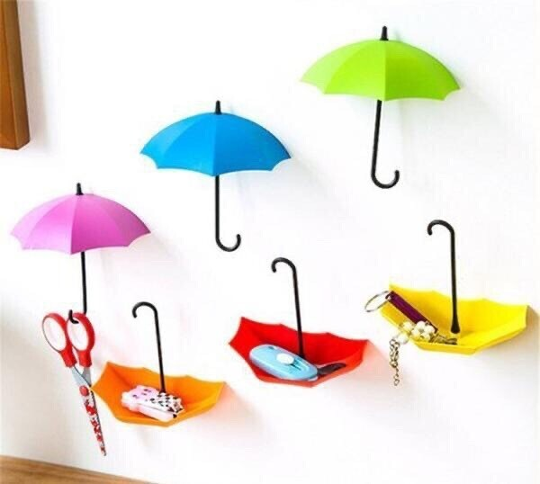 Umbrella Hooks (Set Of 3)