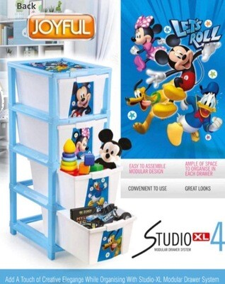 Joyfull studio xl 4 Disney blue print