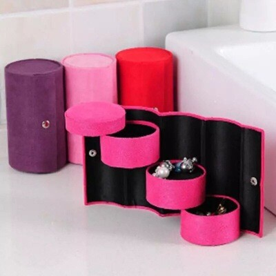 Cylindrical Jewellery Box