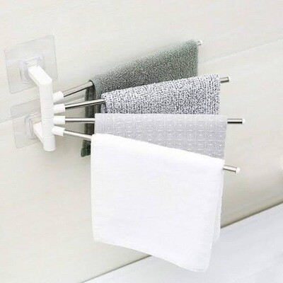 4 Bar Towel Rack