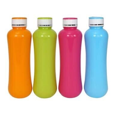 Classic Flip cap water bottles (set of 4)