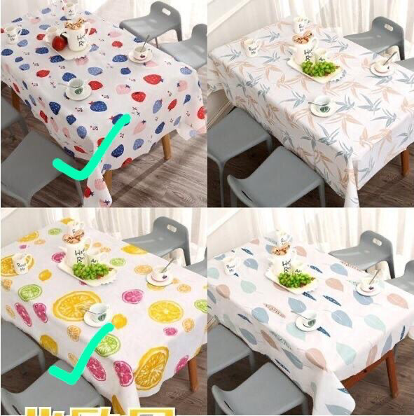 European style dining table print