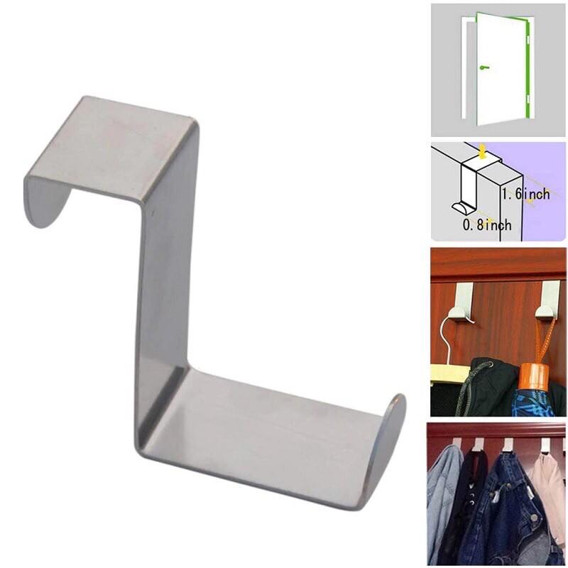 2 pcs stainless steel door hook