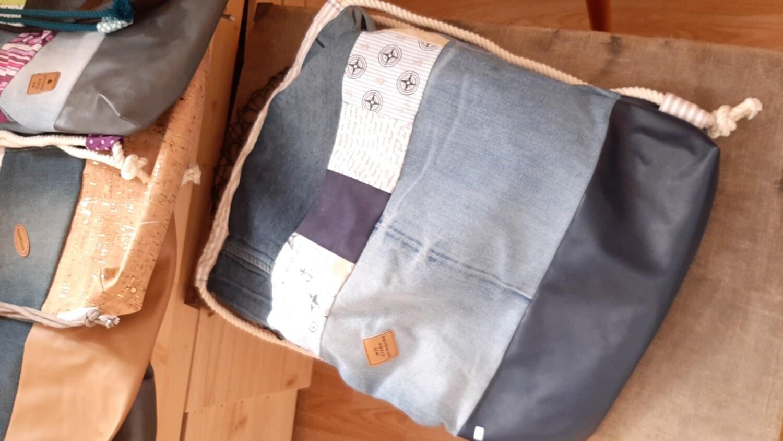 RUCKSÄCKE JeansPatchwork