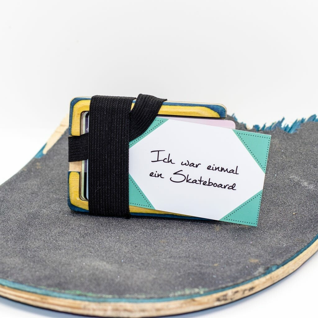 Kulla Cardholder aus gebrauchtem Skateboard