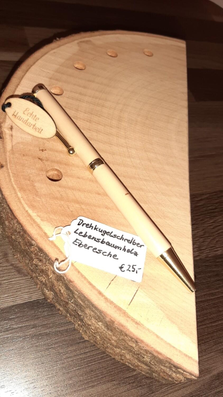 Drehkugelschreiber Lebensbaumholz  gedrechselt