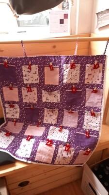 Adventkalender TaschenWandteppich