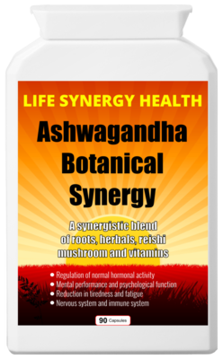 **SALE** Ashwagandha Botanical Synergy - Was £̶1̶6̶ NOW £13!