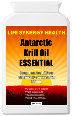**SALE** Antarctic Krill Oil Essential - Was £̶1̶5̶ NOW £12