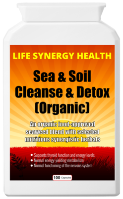 **SALE** Sea & Soil Cleanse & Detox (Organic) - Was £̶1̶8̶ NOW £15!