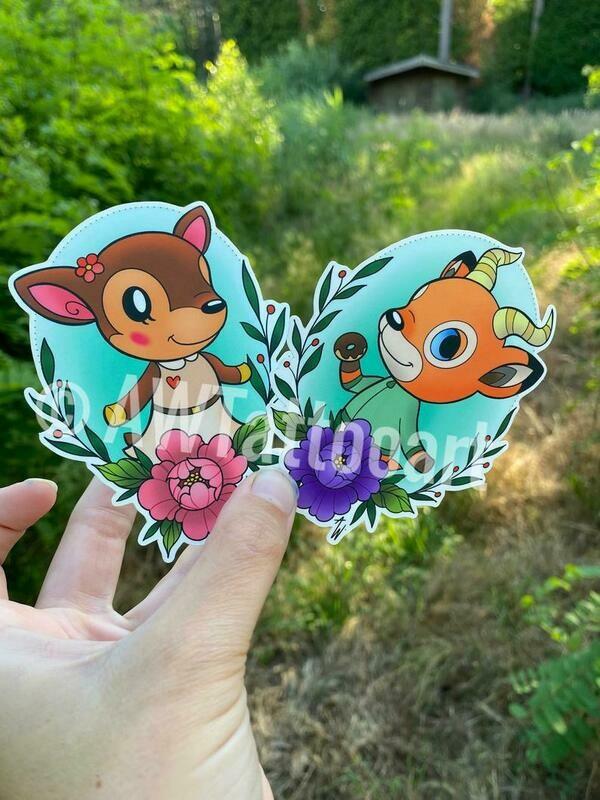 Set Beau en Fauna Stickers