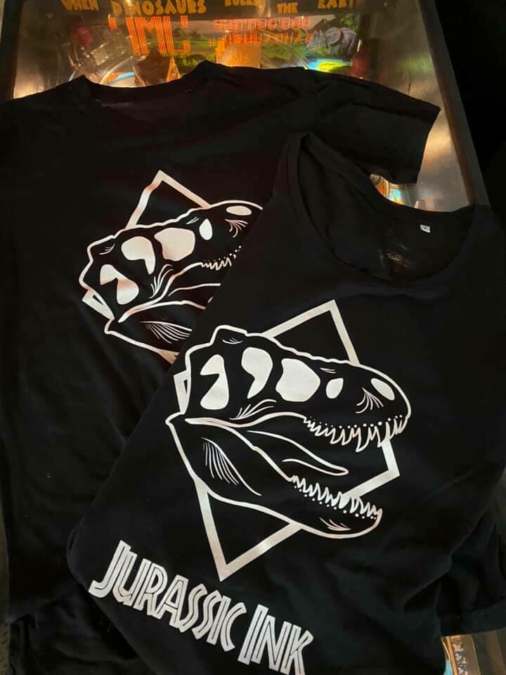 Jurassic Ink T-Shirt HERENMODEL
