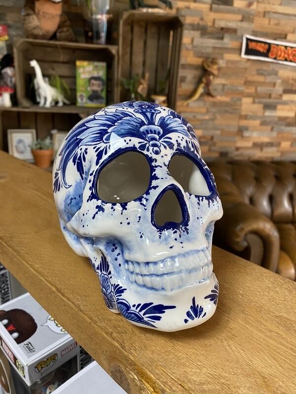 Delfts Blauwe Schedel