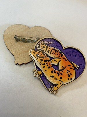 Luipaard Gecko Pin