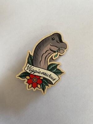 Veggiesaurus Pin