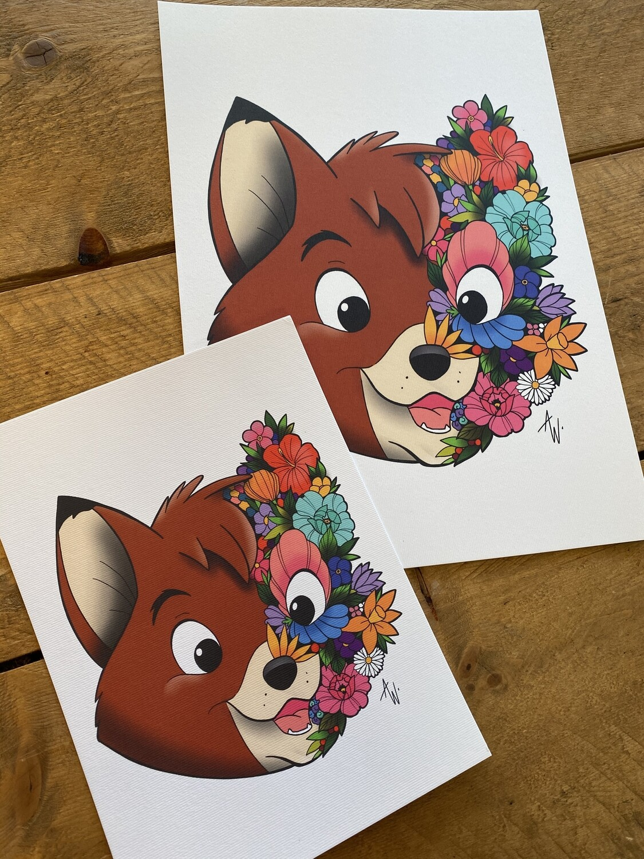 Floral Frank en Frey print Frey