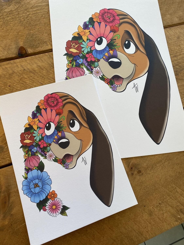 Floral Frank en Frey print Frank