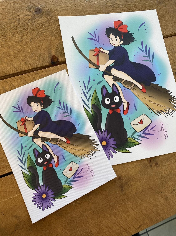 Kiki's Delivery Service Print