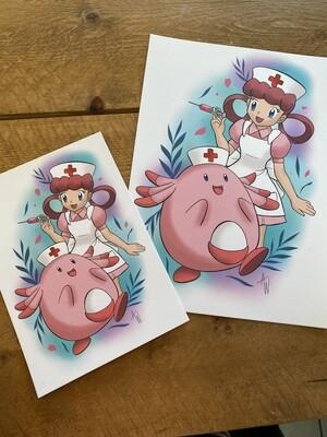 Nurse Joy Print