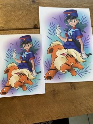 Officer Jenny Print