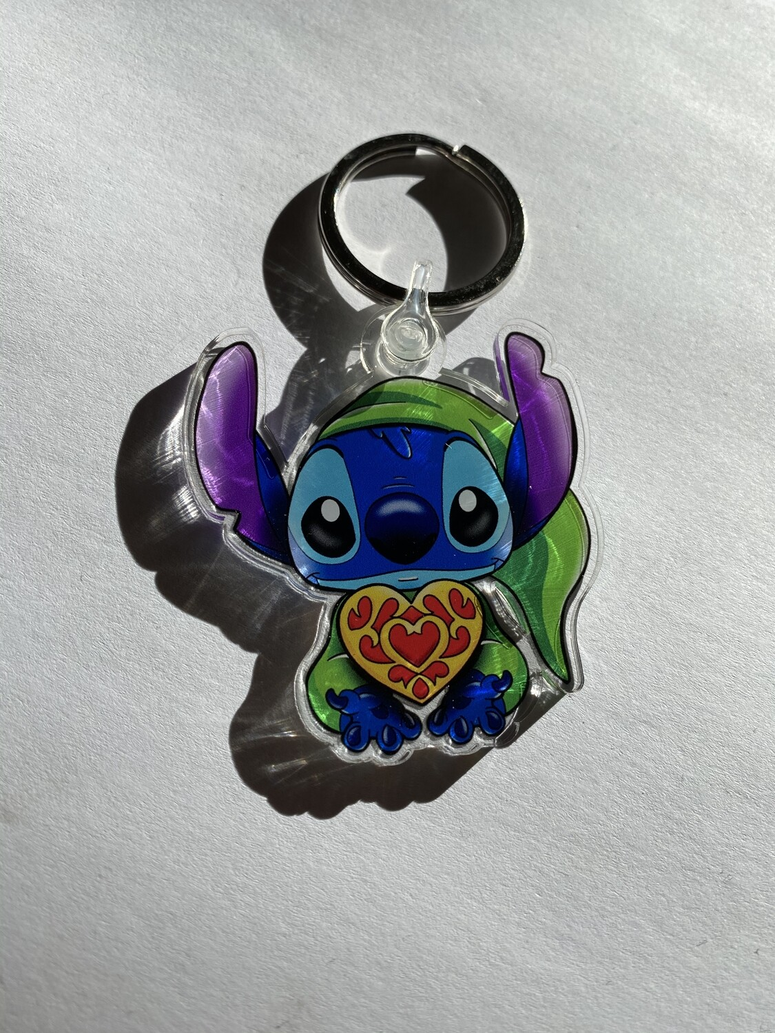 The legend of Stitch Sleutelhanger