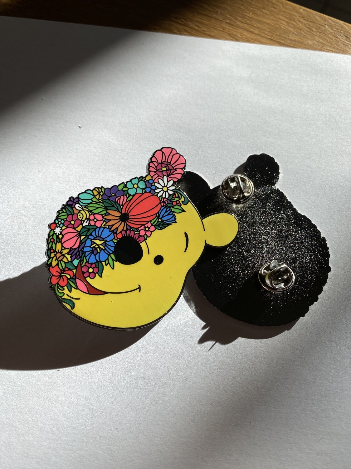 Emaille Pin Floral Pooh