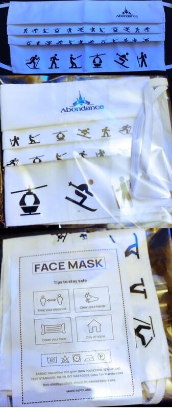 Lot de 5 Masques ABONDANCE