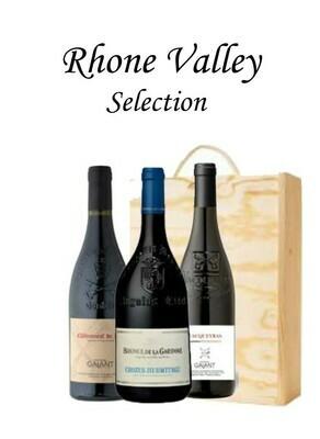 Rhone Valley x 3 Bottles