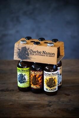 Pack découverte, 6 bières 33cl