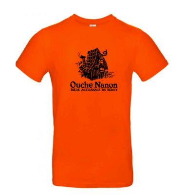 Tee-shirt Ouche Nanon - Orange