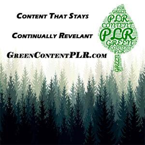 Green Content PLR