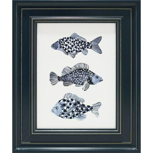 3 Fish 21x26