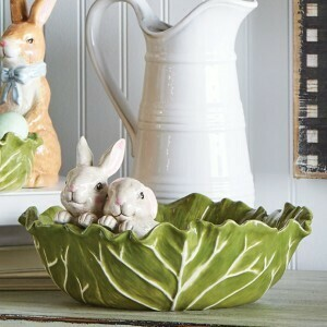Cabbage Bowl Bunnies