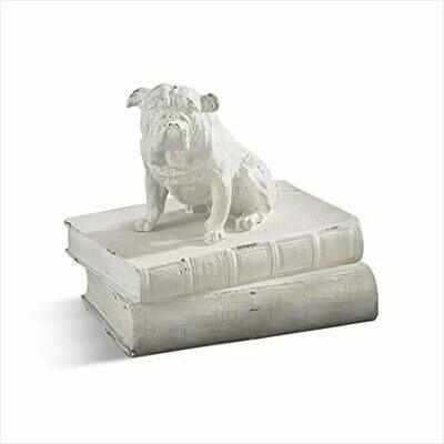 Bulldog on Book