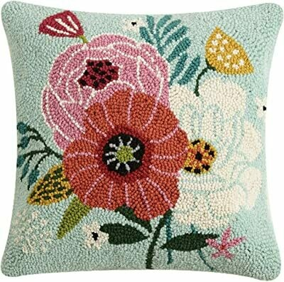 Chic Blooms Pillow