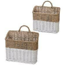 Wicker Wall Basket