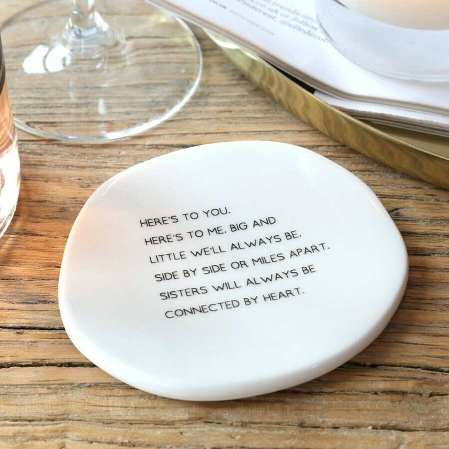 Sisters Shape Coaster