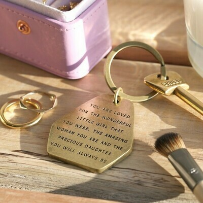 Precious Daughter Key Ring
