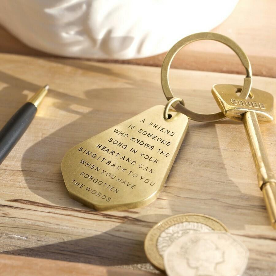 Friend Key Ring