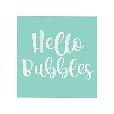 Hello Bubbles Cocktail