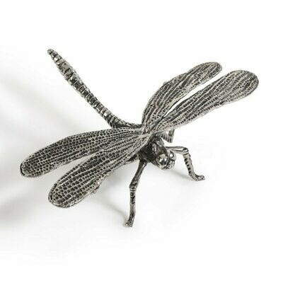Pewter Dragonfly