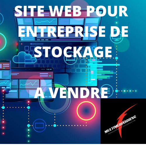 SITE WEB DE STOCKAGE À VENDRE 50$/mois