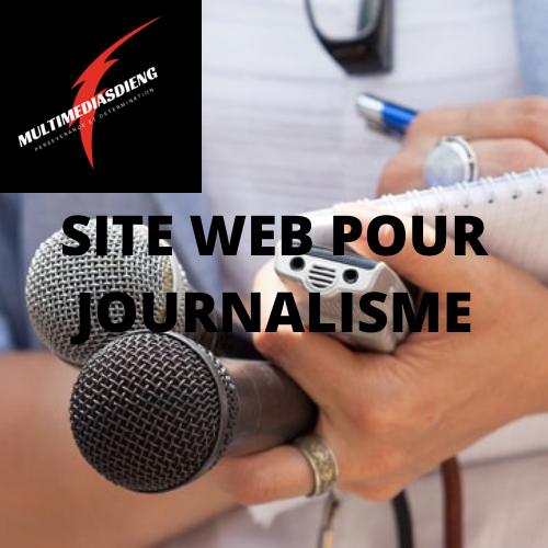 SITE WEB  POUR JOURNALISME À VENDRE 50$/mois